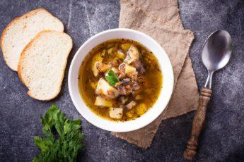 грибной суп рецепт